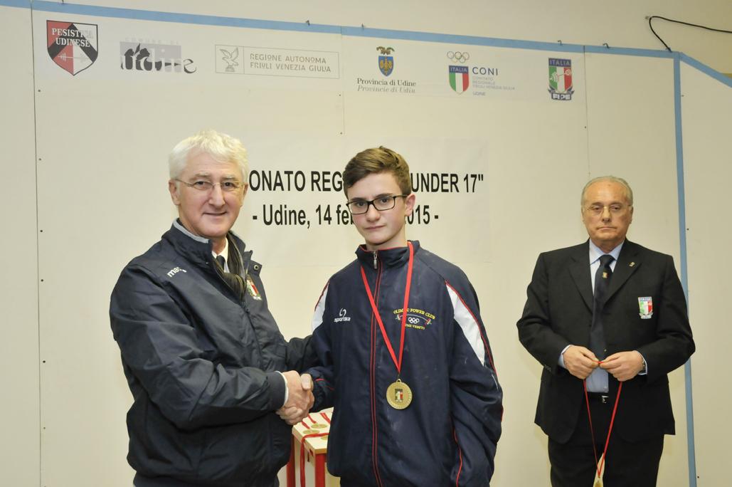 Campionati Regionali Under 17 di pesistica