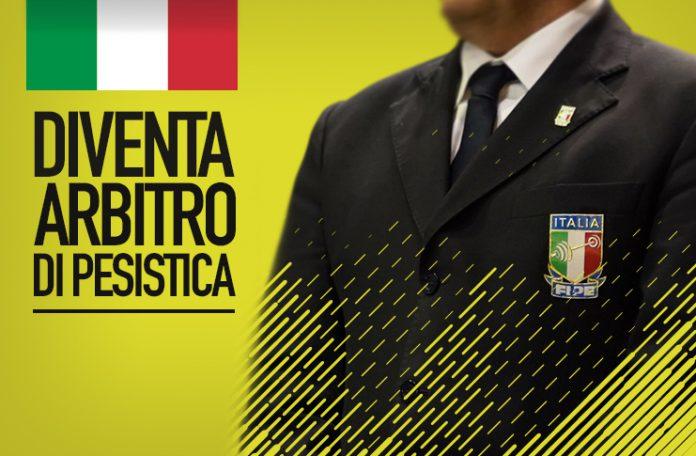 Corso online gratuito per Arbitro Regionale di Pesistica: Aperte le iscrizioni, il via il 5 marzo