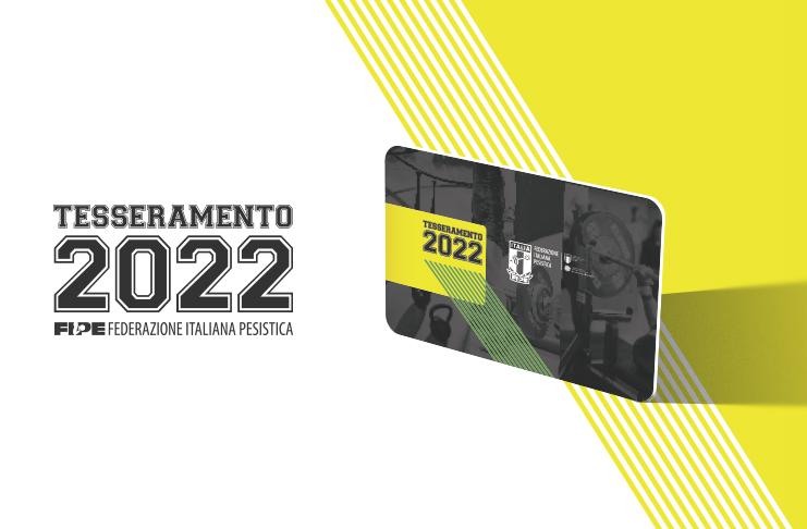 Partita la campagna Tesseramento e Riaffiliazione 2022