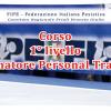 Corso di I° livello per allenatori e Personal Trainer 2016