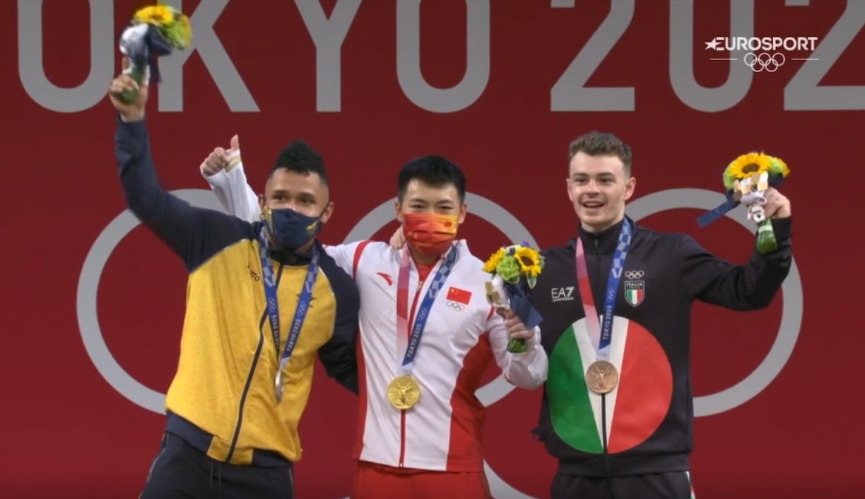 Mirko Zanni   Bronzo Olimpico